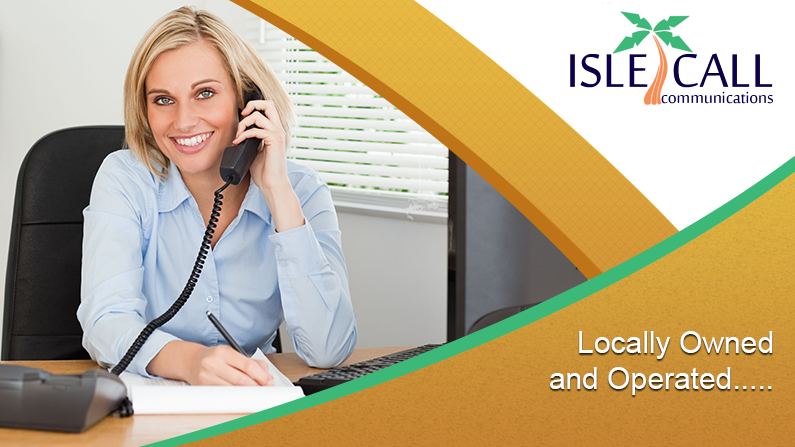IsleCall Communications, locally owned and operated